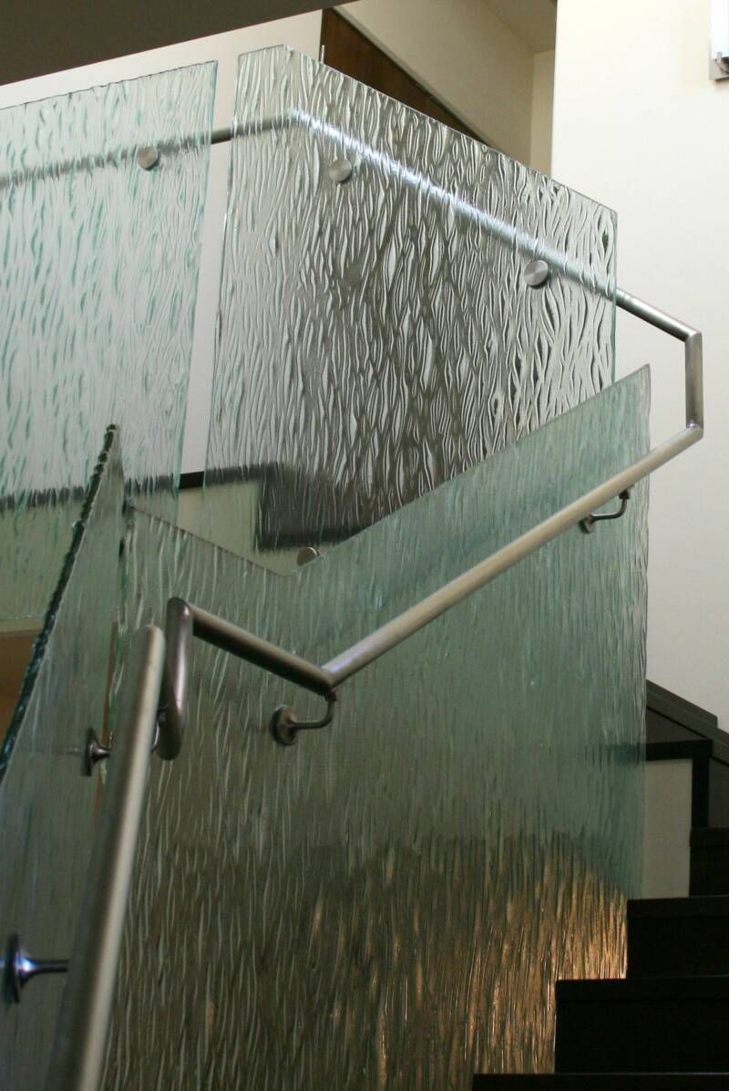 Glass Railings Custom Cast Glass Railing Glass Rail