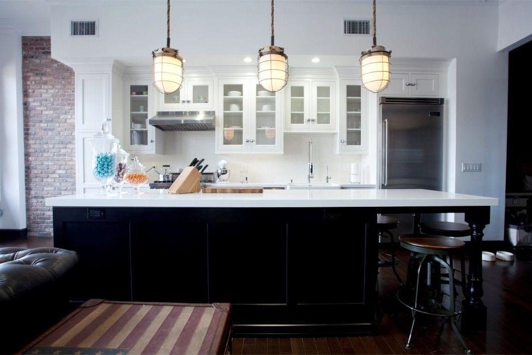 Nautical Pendant Lights For Kitchen Island Nautical Kitchen Loft Kitchen Dark Dining Room
