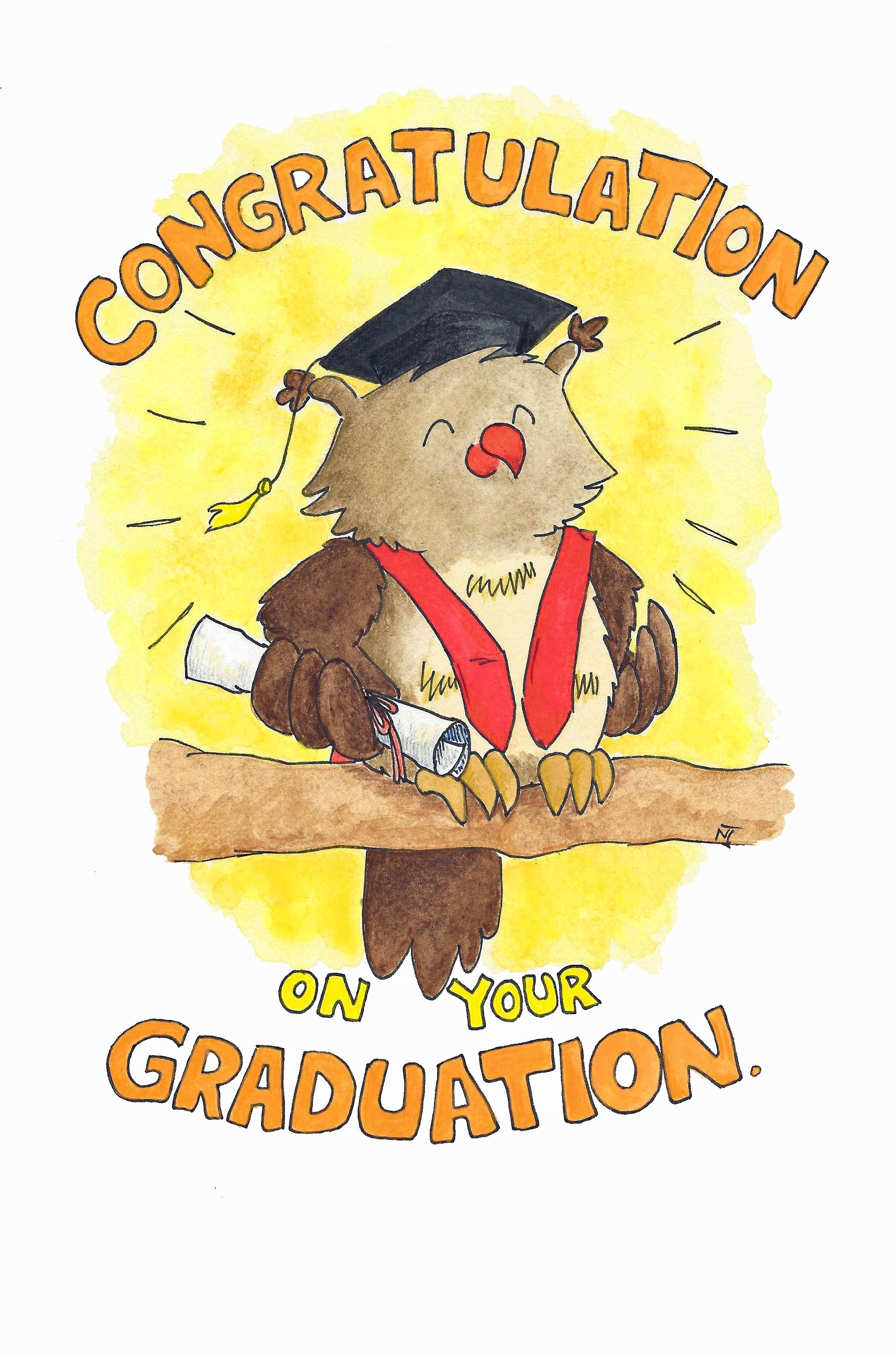 Congratulation On Your Graduation Greeting Card My Designs