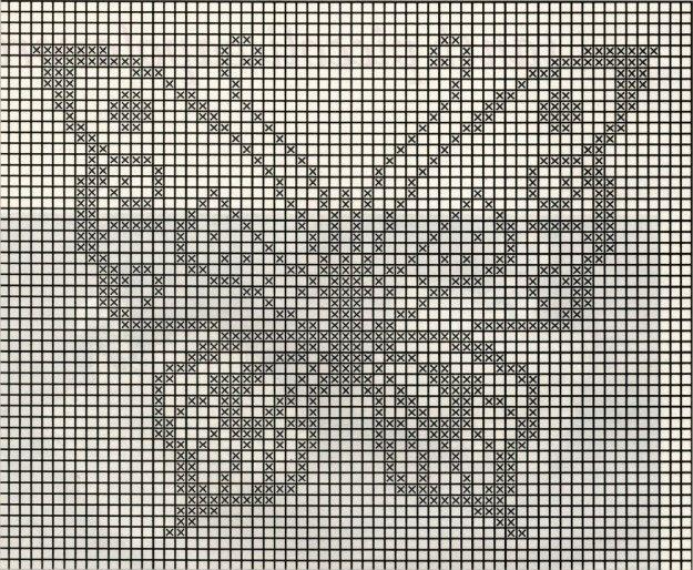 Patrón Mariposa | Cortinas y Cenefas Crochet | Pinterest | Mariposas ...
