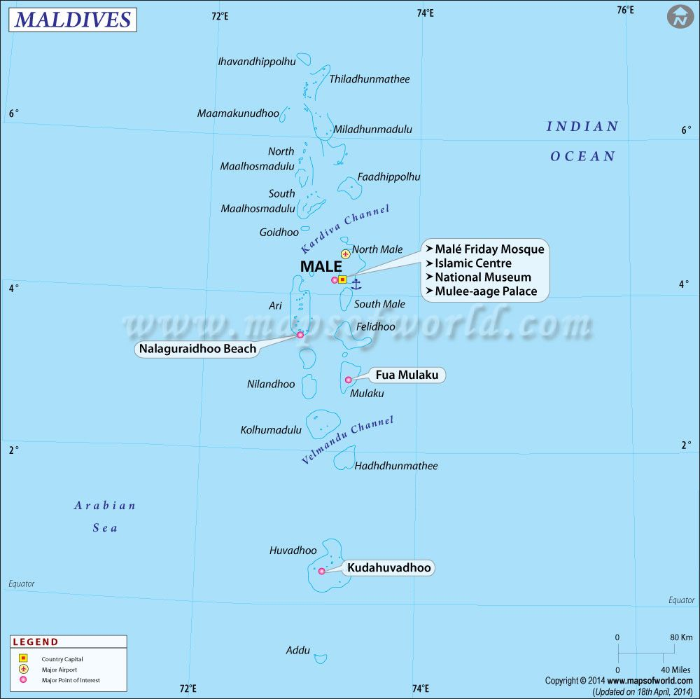 Maldives Map  Geo Maps  Pinterest  Maldives and International