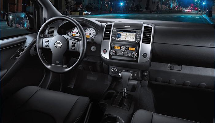 2020 Nissan Frontier Interior Sneak Peek