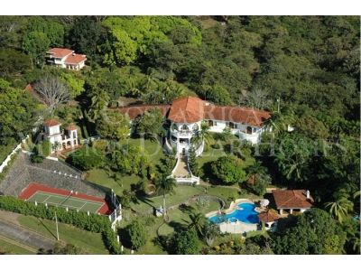 Mediterranean Style Mansion Overlooking the Central Pacific Coast – offered Turnkey