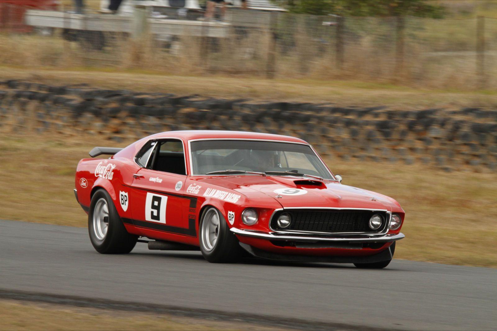 The Kar Kraft prepared Boss 302 Trans Am Ford Mustang of Allan ...