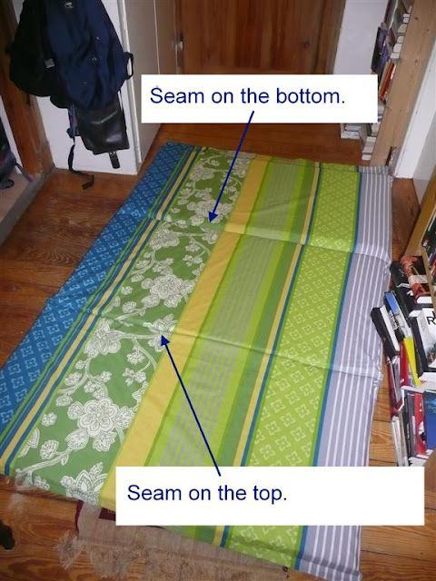 diy folding mattress for guest sleeping for the home. Black Bedroom Furniture Sets. Home Design Ideas