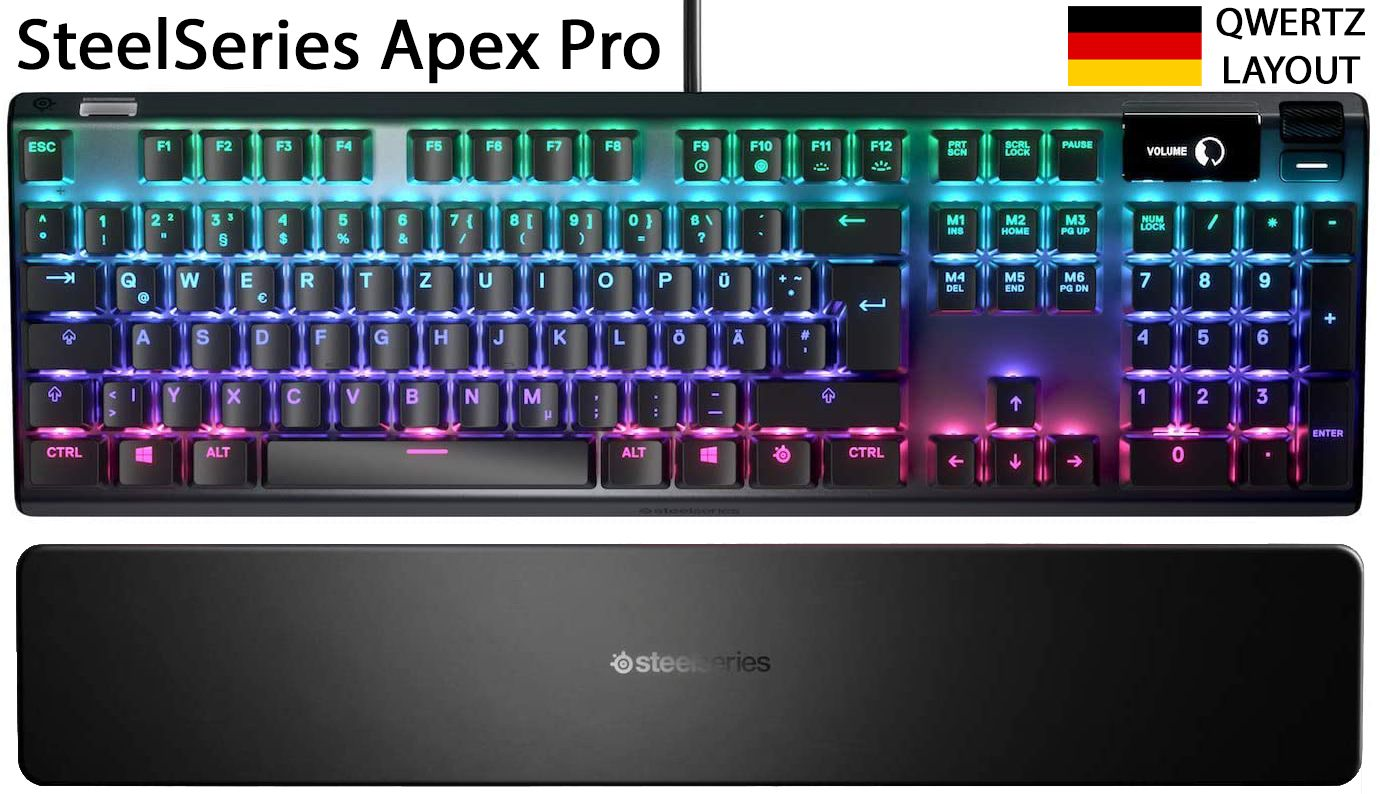 Steelseries Apex Pro Qwertz In 2020 Gaming Tastatur Gaming Tastatur