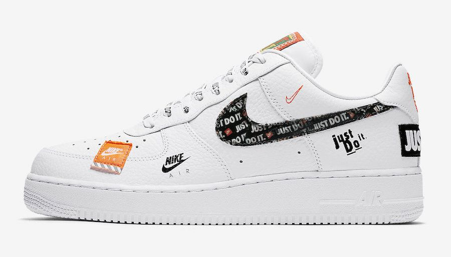 Official Images Nike Air Force 1 07 Premium Just Do It Nike Air Force Nike Air Force Ones Turnschuhe Damen
