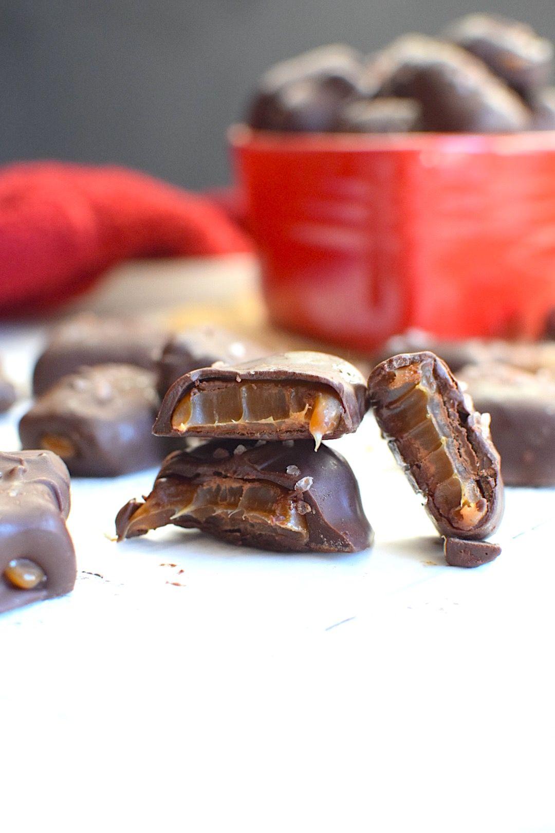 Vegan Chocolate Covered Caramels Recipe Vegan Chocolate Vegan