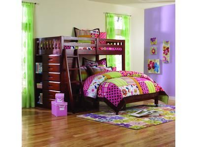 Forrester Twin Full Bunk Bed Creative Space Savers