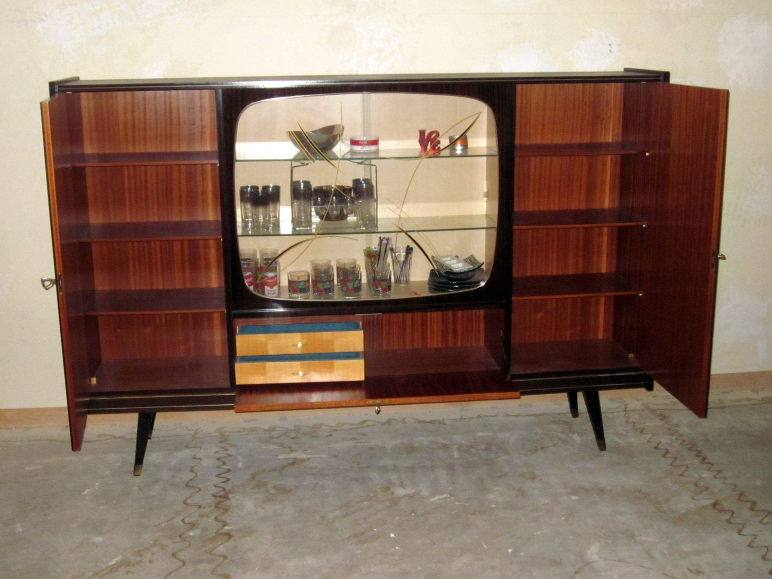 Inspirational Danish Modern Bar Cabinet