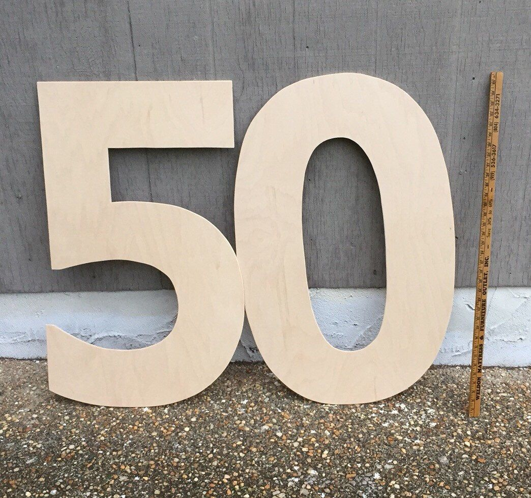 41bbfceb78f 36 inch wood Numbers. Birthday Numbers. Anniversary Numbers. Parties. Giant  Numbers. 30th birthday