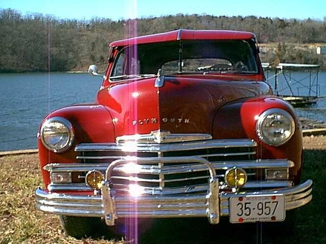 1949 49 Plymouth 4 Door Sedan