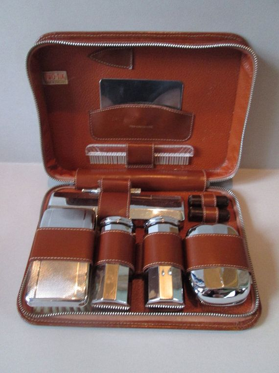 Vintage Edwardian Gentlemans Grooming   Shaving Kit. on Etsy 14c1ad5008422