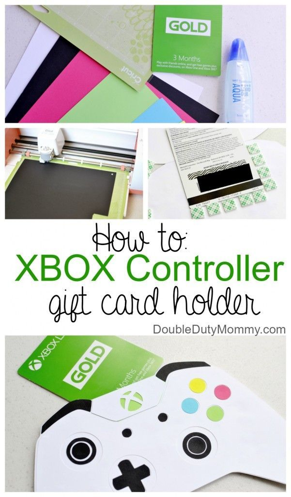 Diy Xbox Controller Gift Card Holder By Doubledutymommy Com Ad Backtoschool Xbox Gift Card Gift Card Holder Diy Card Holder Diy