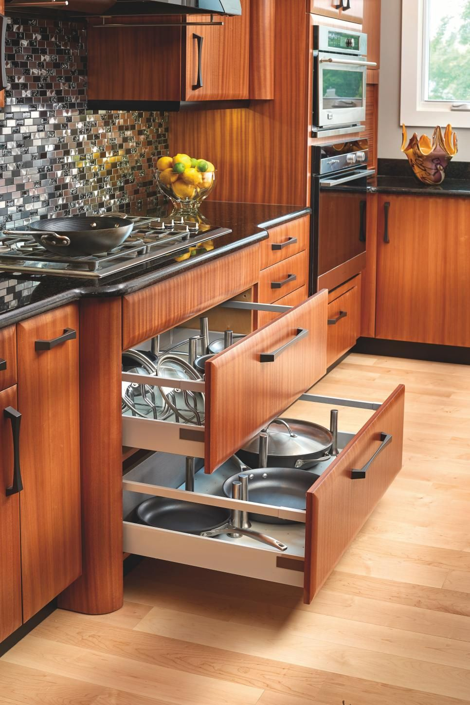 get tips and ideas for incorporating storage pull outs in your kitchen at hgtv com kitchen on kitchen organization cabinet id=40434