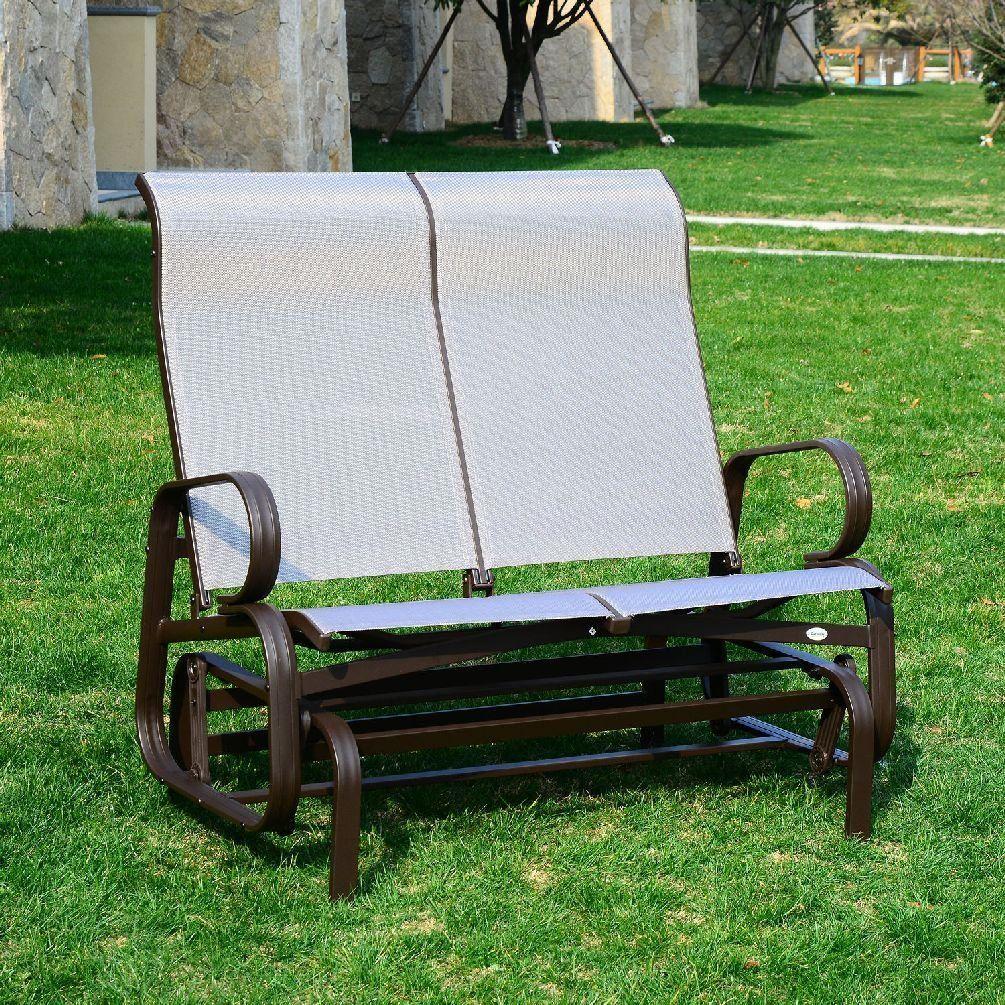 Porch swing glider loveseat bench rocking chair outdoor furniture
