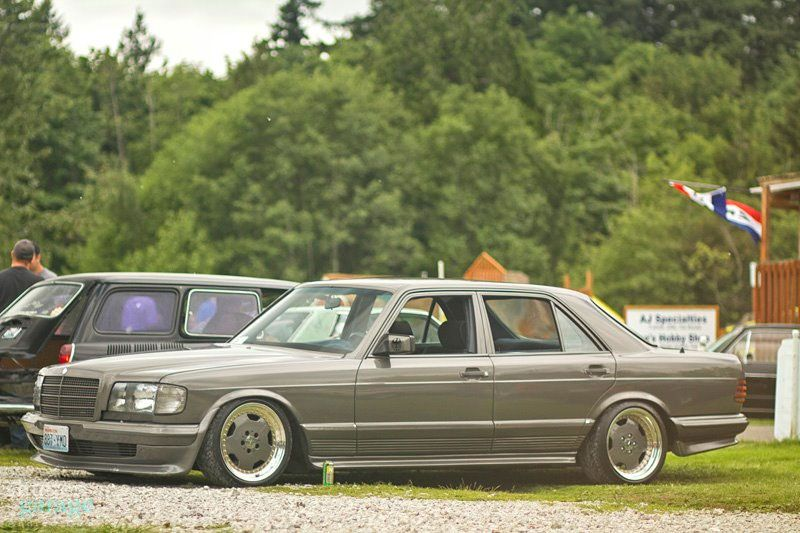 mercedes benz w126 500se on amg aero i mercedes. Black Bedroom Furniture Sets. Home Design Ideas