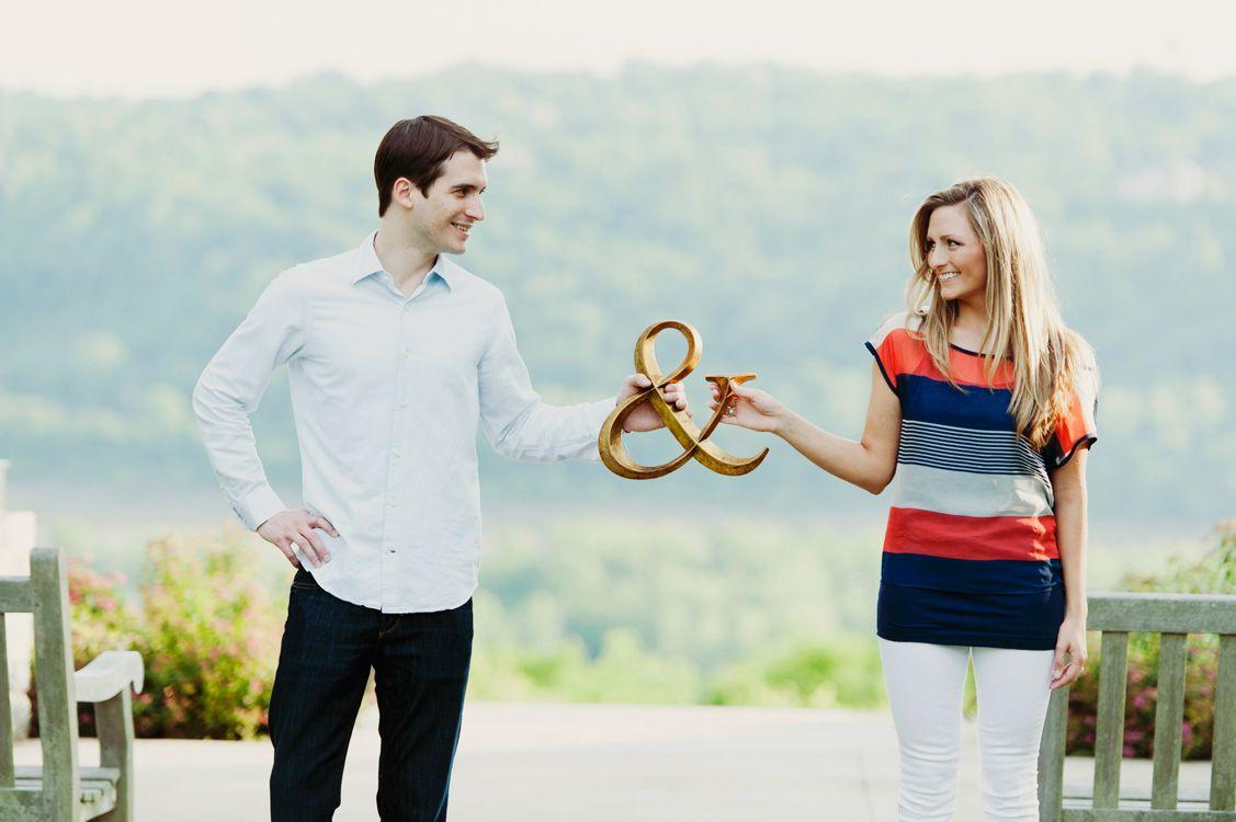 Super Cute Engagement Photo Idea Cincinnati Wedding Planner
