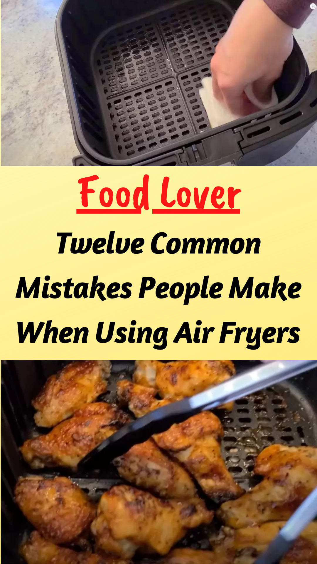 Twelve Common Mistakes People Make When Using Air