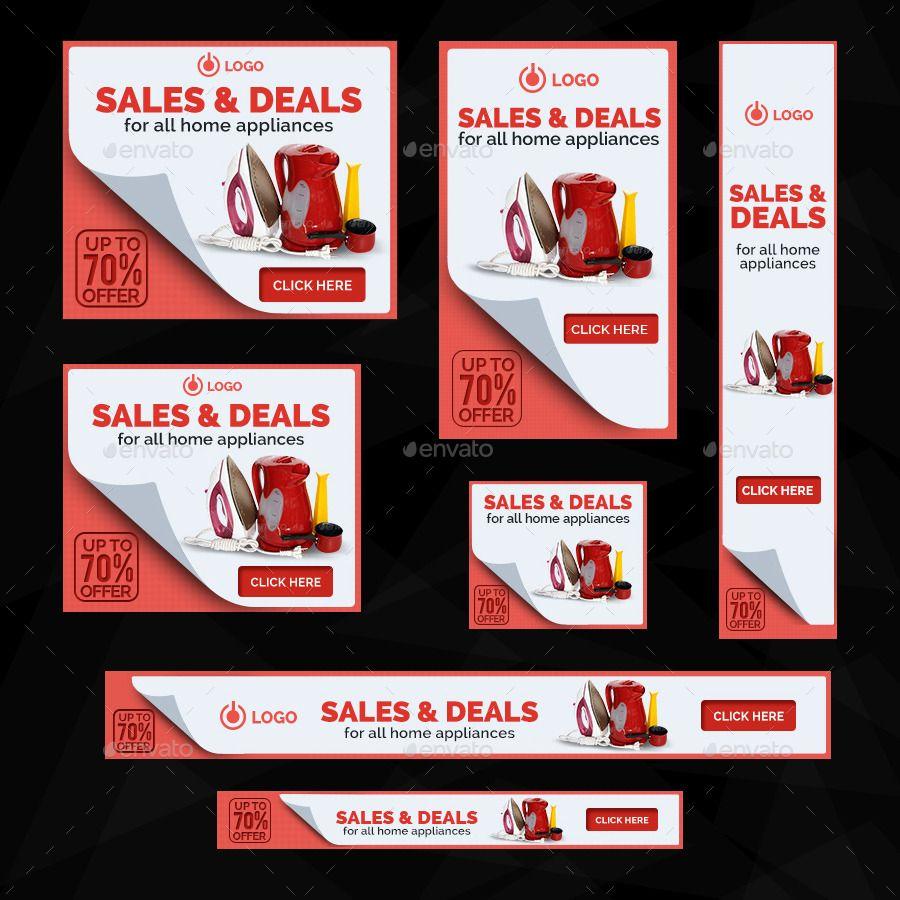 Retail Sale Banners Bundle 4 Sets 81 Banners Sale Banner Adwords Banner Retail Sales