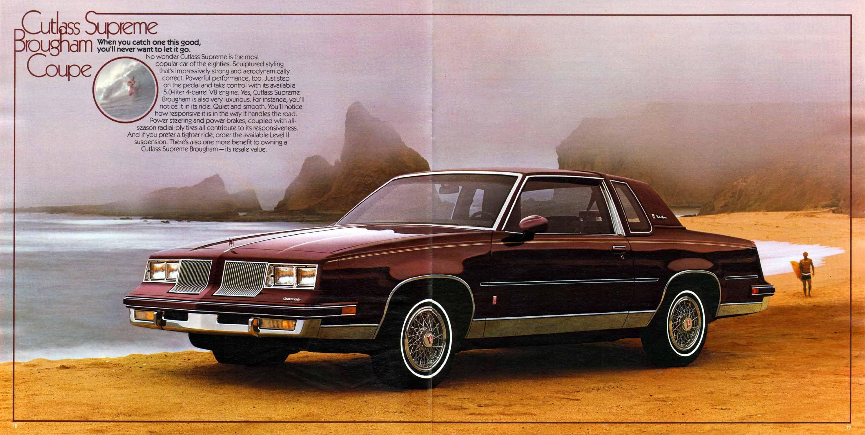 1986 Oldsmobile Cutlass Supreme Brougham Coupe Oldsmobile Cutlass Oldsmobile Cutlass Supreme Oldsmobile