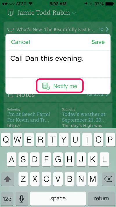 Quick Note 2 | Evernote tips | App design, Mobile app design