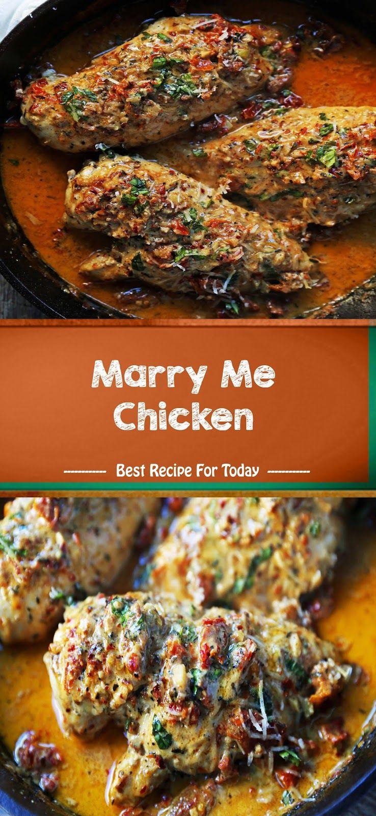 Marry Me Chicken | Healthy Recipes #marrymechicken