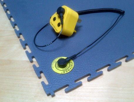 ESD Erdungs Kit Für Elektrisch Ableitende PVCFliesen In Der - Industrie pvc fliesen