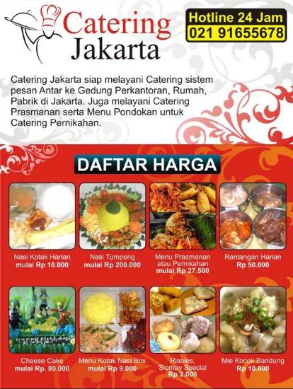 Contoh Brosur Catering : contoh, brosur, catering, Contoh, Desain, Brosur, Makanan, Ayeey.com, Makanan,, Catering,
