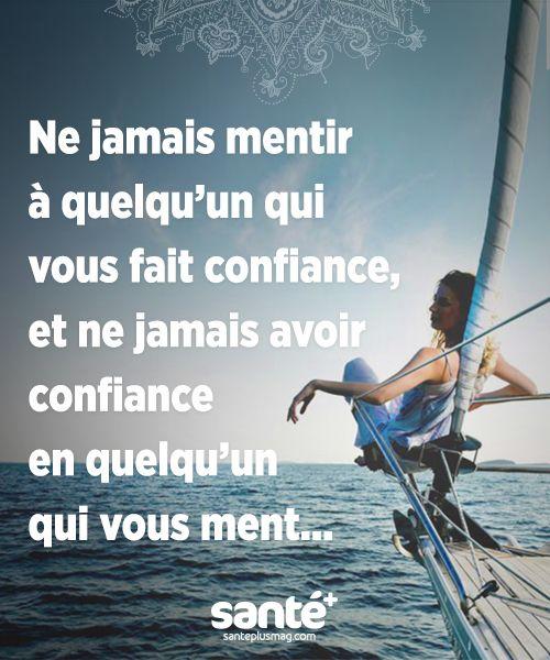 Ne Jamais Faire Confiance A Personne : jamais, faire, confiance, personne, Santé+, Magazine, Santé, Naturelle, Citation, Sante,, Francais,