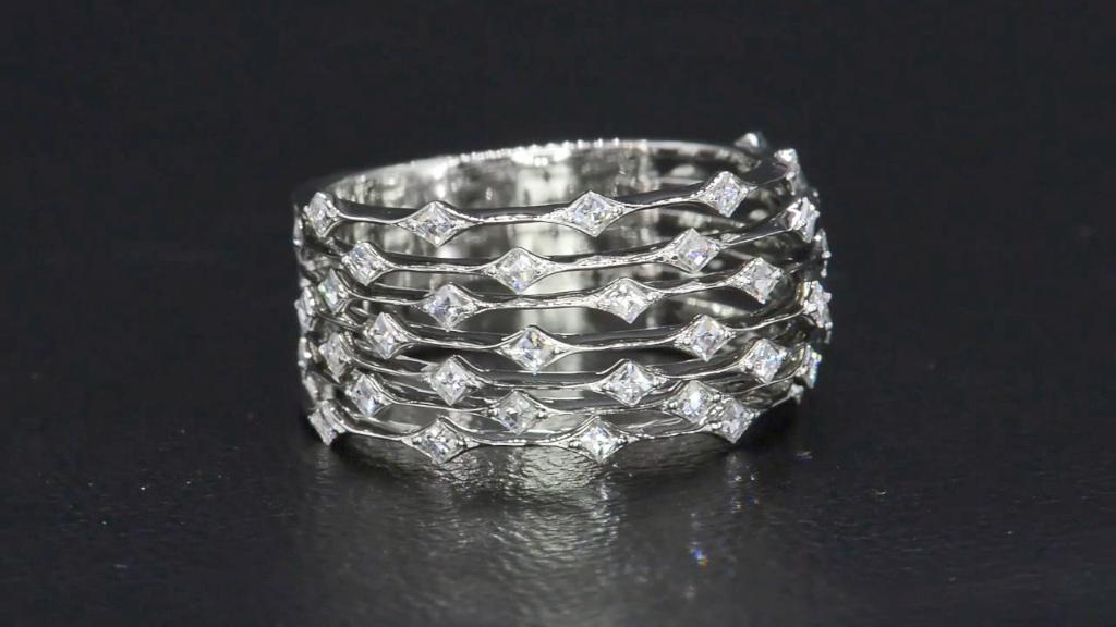 Created Emerald Earrings Diamonds Sterling Jewelry rings
