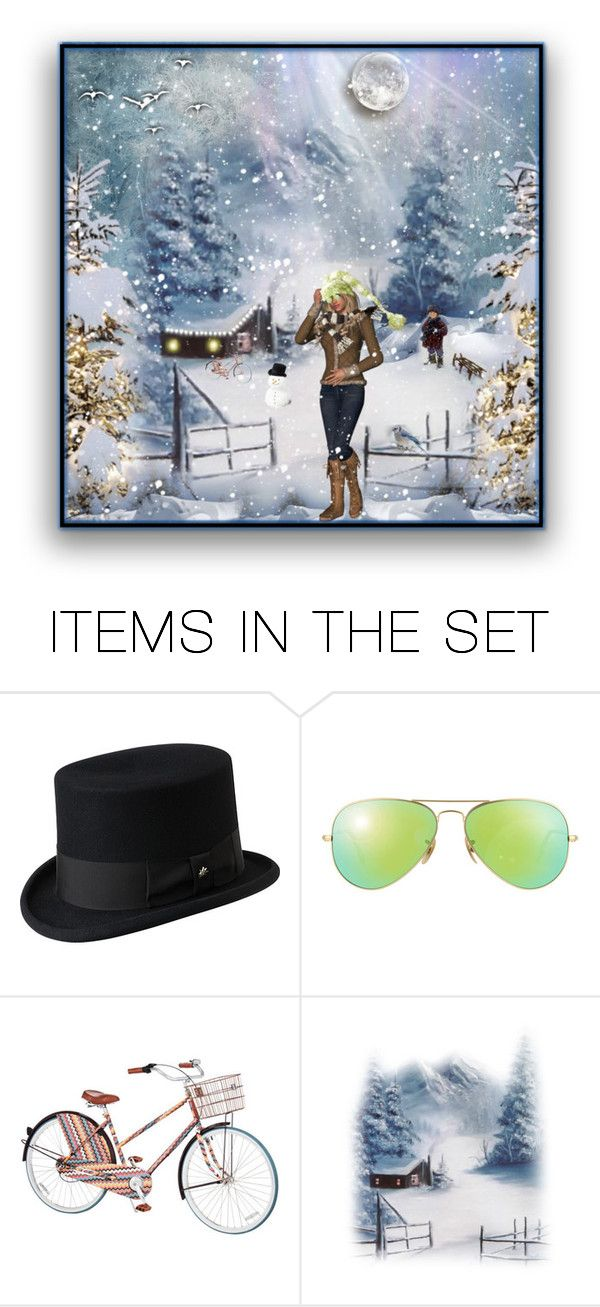 """Let it snow❄️"" by califorina-girl ❤ liked on Polyvore featuring art"