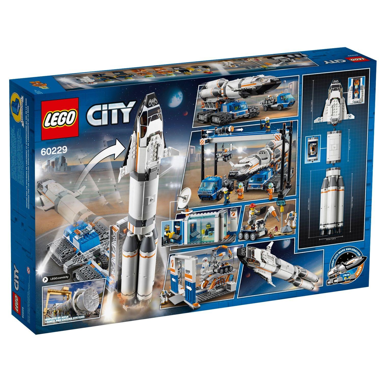 Lego City Space Port Rocket Assembly Transport Set 60229 Affiliate Space Aff Port Lego City Lego City Space Lego Space Lego City