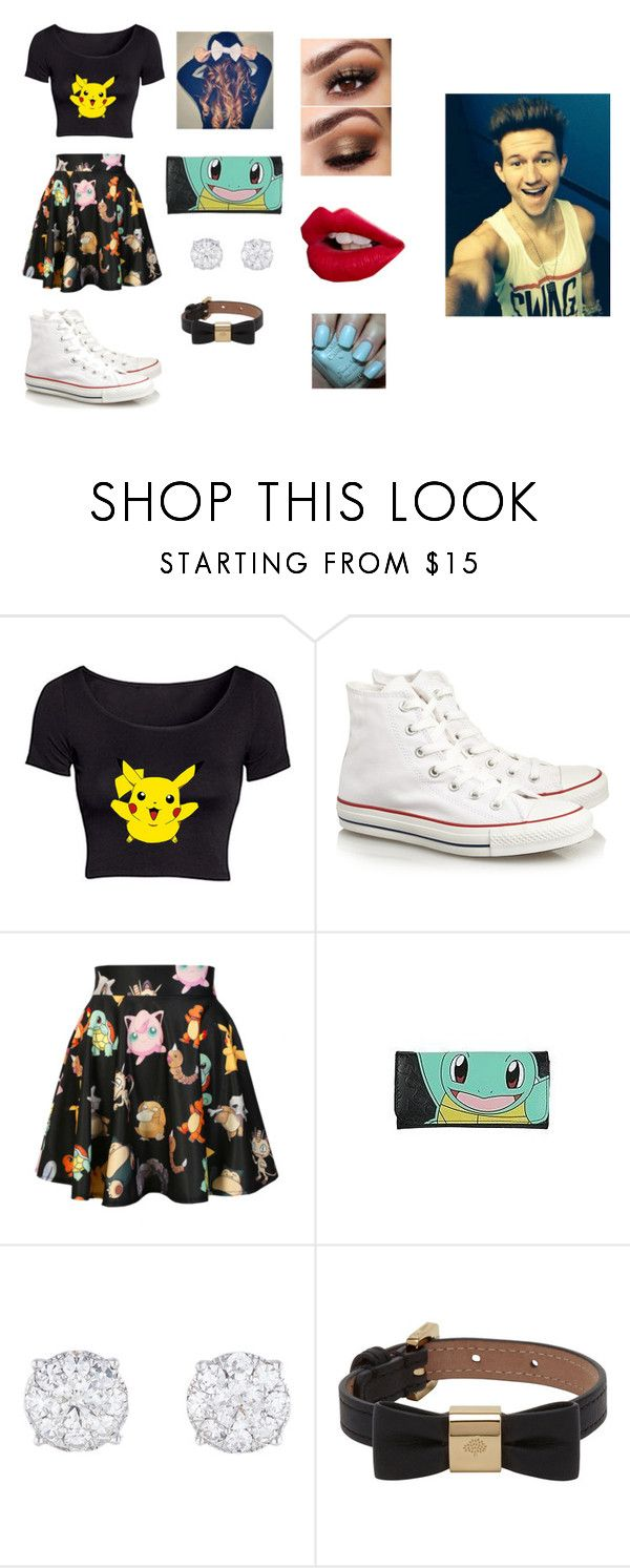 """""""Going to a Pokemon Fest with Ricky"""" by magcon-o2l ❤ liked on Polyvore featuring Converse, O-Mighty, Mulberry, Charlotte Tilbury and Hard Candy"""