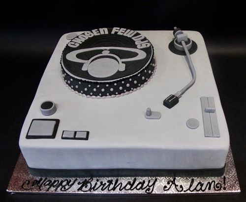 Super Custom Dj Turntable Birthday 300517 Dj Cake Unique Cakes Wine Cake Birthday Cards Printable Trancafe Filternl