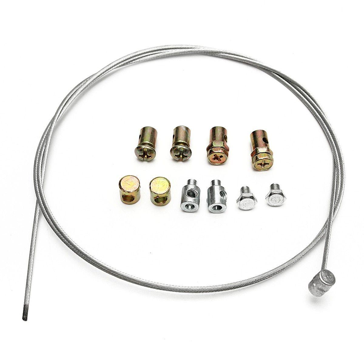 1 unidades cable del acelerador de la motocicleta de