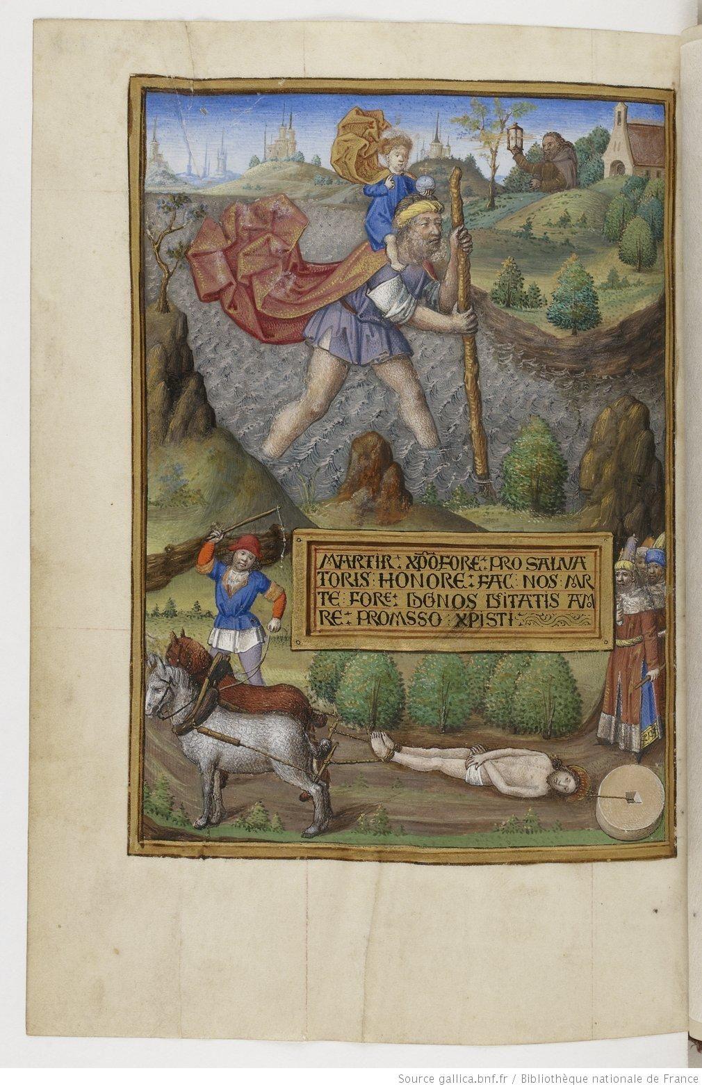 Horae ad usum Romanum Date d'édition : 1470-1480 Type : manuscrit Langue : Latin