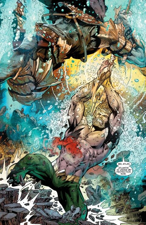 Aquaman vs Atlan, The First King of Atlantis