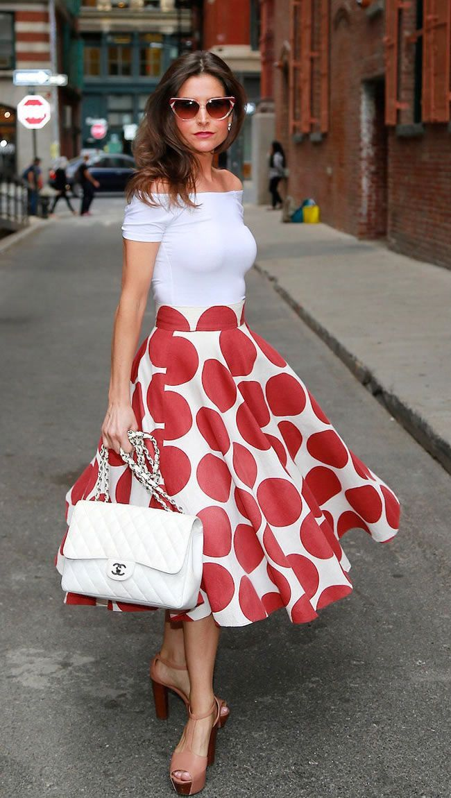 Stylish ways to wear Polka Dot modernly - DesignerzCentral | vintage ...