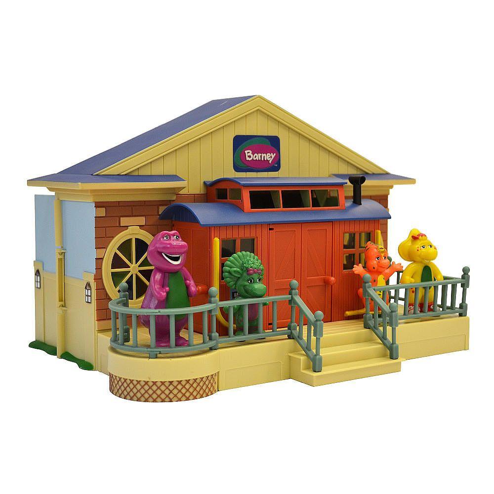 Barney Deluxe Schoolhouse Playset Charter Limited Toys R Us Lego 41060 Disney Princess Sleeping Beautyamp039s Royal Bedroom 1998 Buy