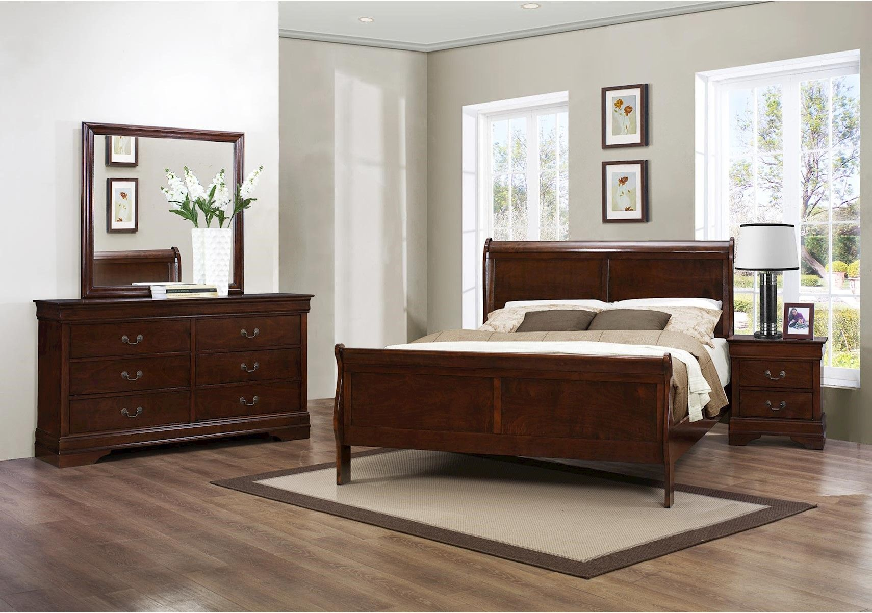 Lacks  Mayville 3-Pc Full Bedroom Set  Bedroom sets queen