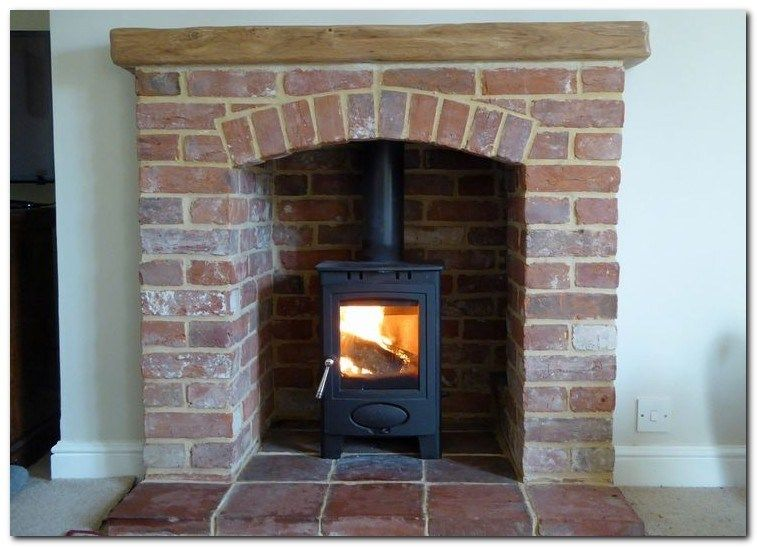 30 Modern Brick Fireplace Decorations Ideas For Living Room