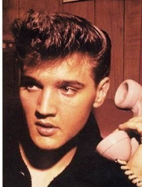 elvis presley ... oh yes, he could have called me anytime ;)