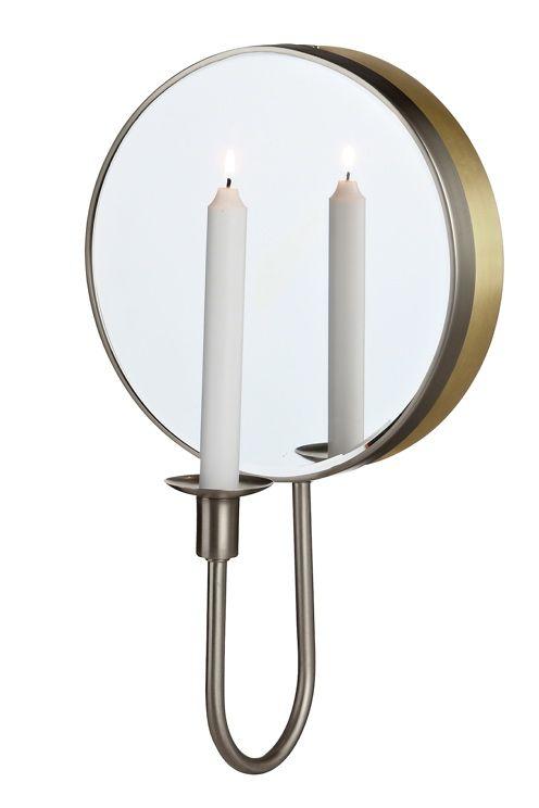 Markslöjd MIRROR-peili, jossa valo