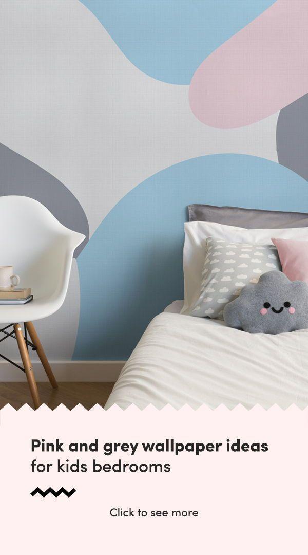 Best Solomon Abstract Camo Wallpaper Mural Pink Bedroom Decor 400 x 300