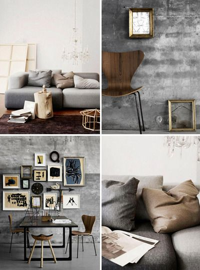 Grey And Camel Is A Classic Interior Colour Combination And It S