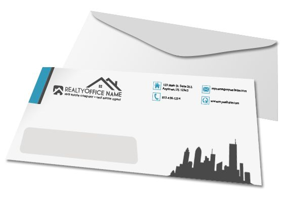 Real Estate Envelope Template  Envelopes Real Estate And Template