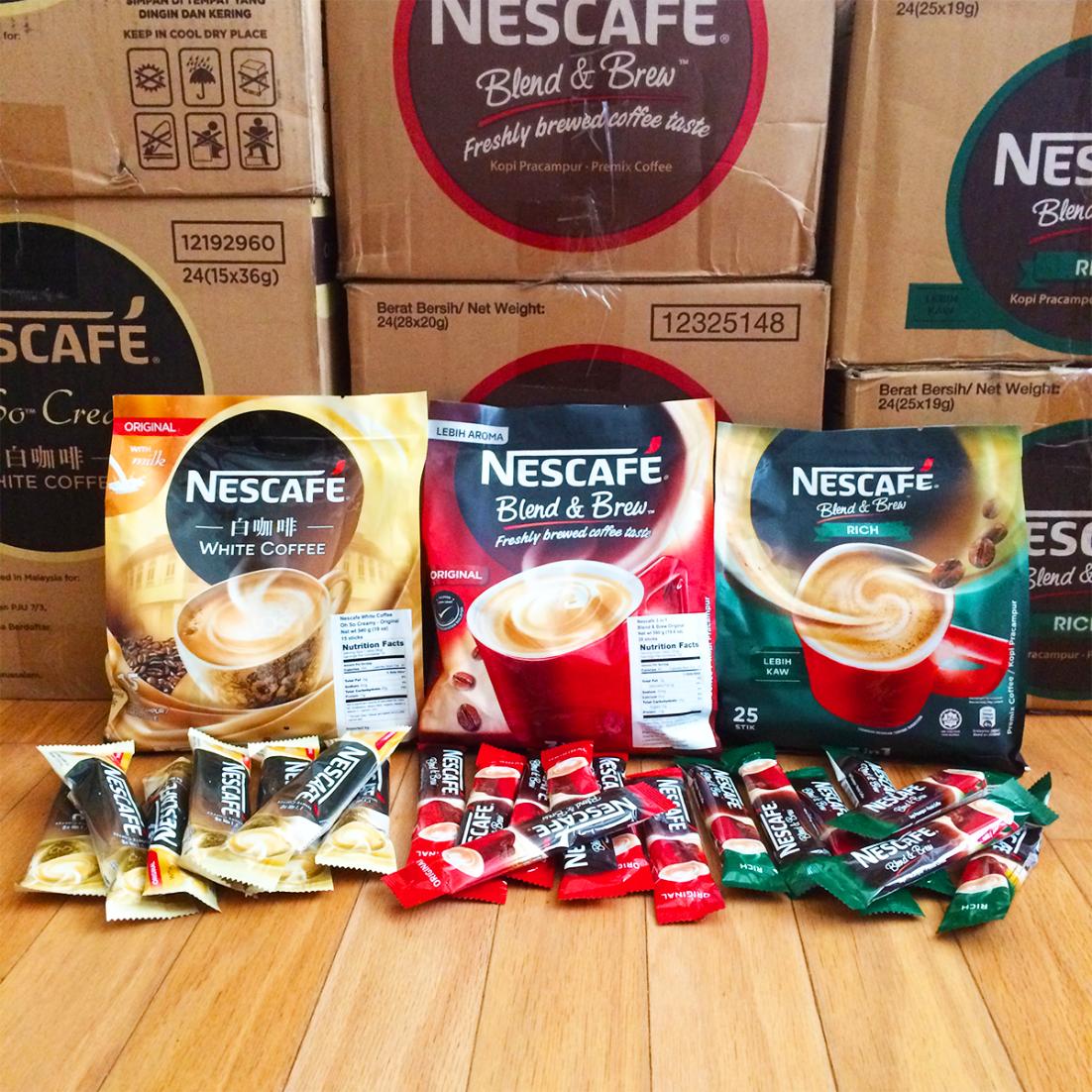 Nescafe 3in1 Original Nescafe, Coffee tasting, Coffee