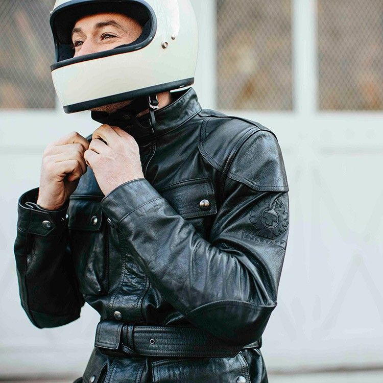 03ba86ca34c The Belstaff Trialmaster Classic Tourist Trophy Leather Jacket is exactly  that, a superb leather version of the best selling Classic Tourist Trophy  wax ...
