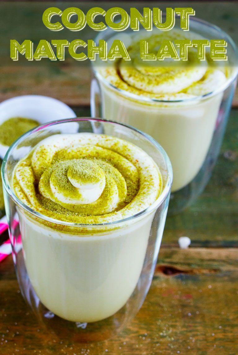 Coconut matcha latte keto friendly the coconut mama